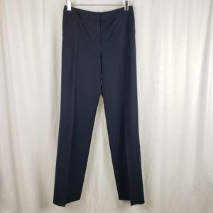 Lafayette 148 Navy Blue Dress Pants